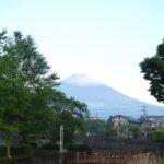 また富士山が白くなりました❅