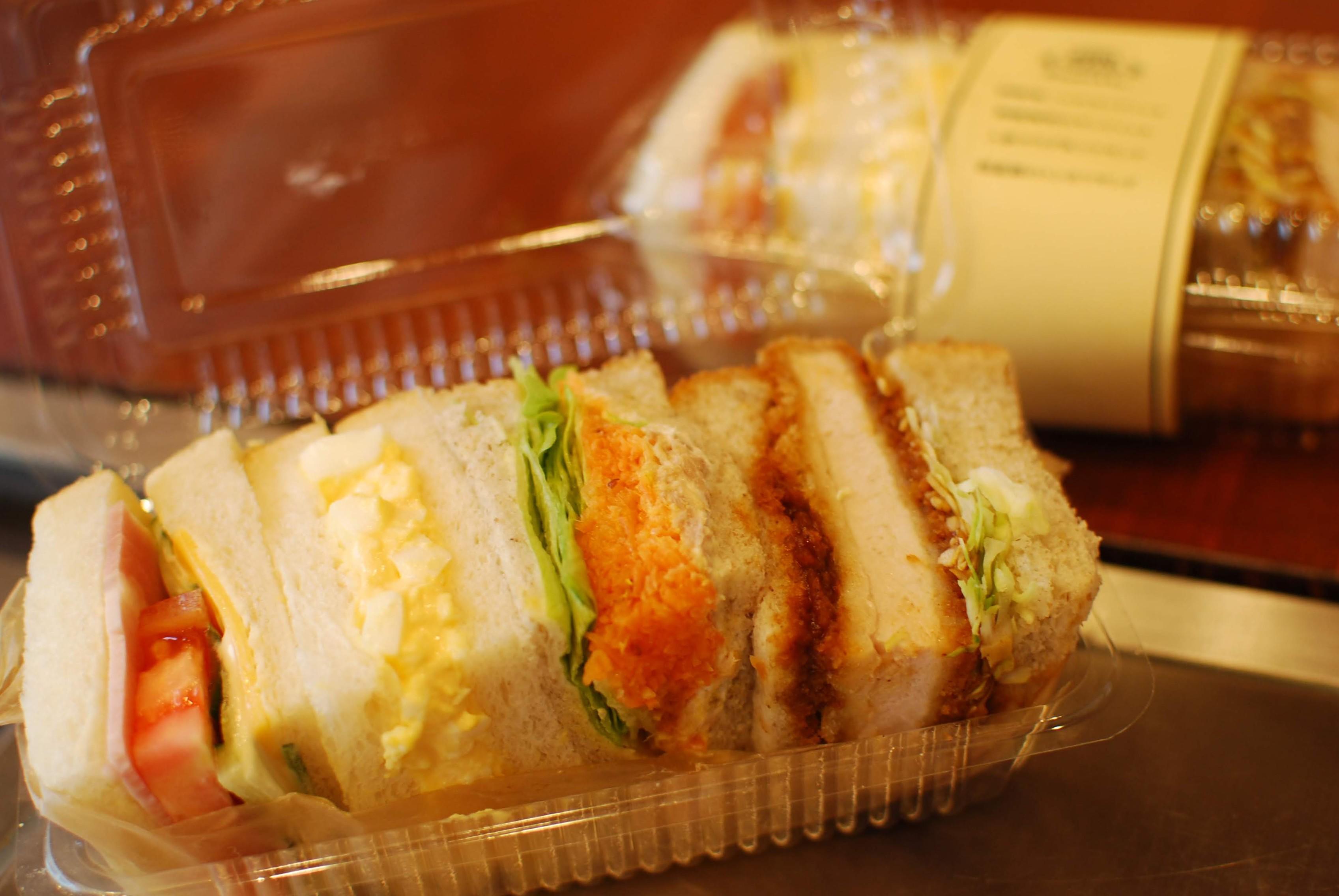 サンドイッチのご予約も承っております!