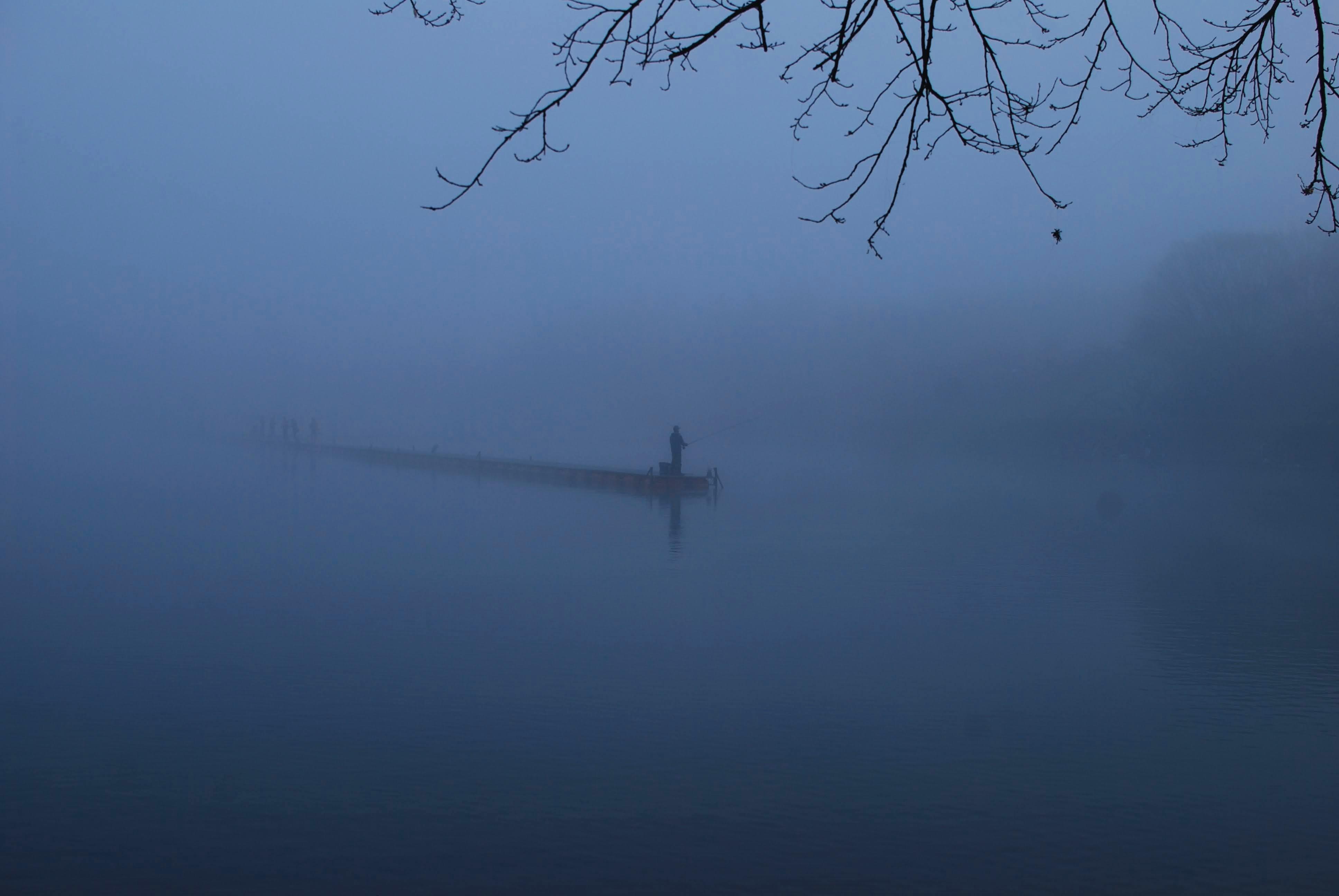 御殿場の朝。雲の中を体験できるのは日の出まで!?