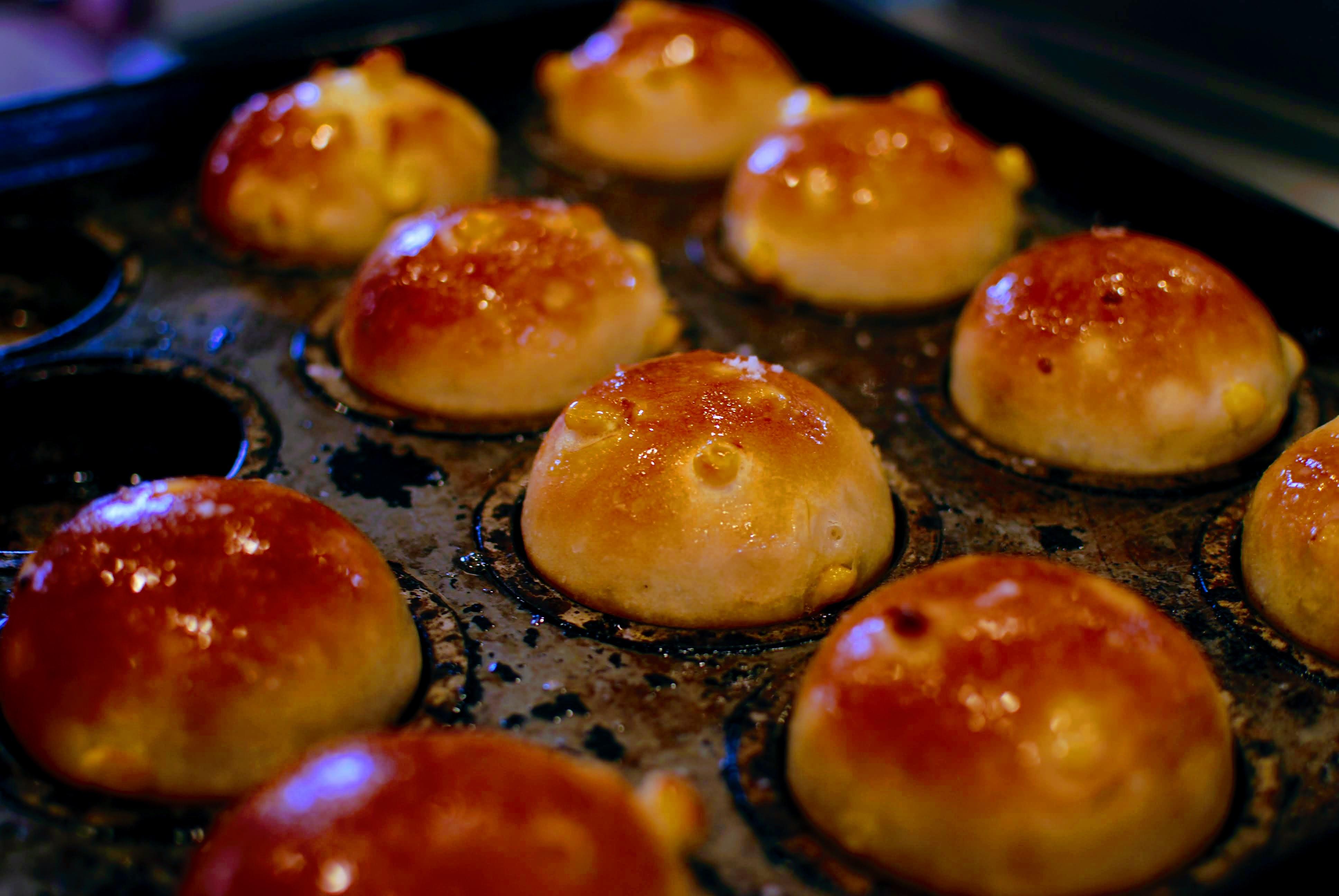もちもち、しっとり食感「北海道とうもろこしのコーンパン」